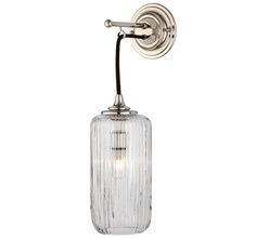 The Single Dalby Light With Fluted Shade