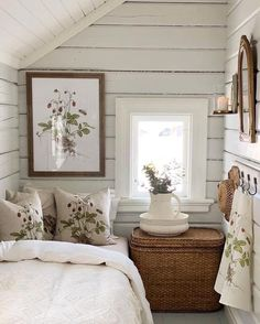 Attic Bedrooms, Home Bedroom, Bedroom Decor, Beautiful Bedrooms, Cozy House, My Dream Home, Cottage Style, Room Inspiration, House Design