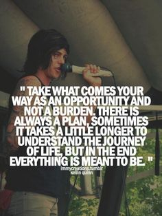 44 Best Kellin Quinn quotes and pictures images | Kellin ...