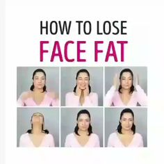 face exercises to slim face ~ face exercises to slim face ; face exercises to slim face video ; face exercises to slim face men Fat Face Exercises, Double Chin Exercises, Facial Exercises, Yoga Facial, Reduce Face Fat, Face Fat Loss, Gym Workout Videos, Workouts, Beauty Tips For Glowing Skin