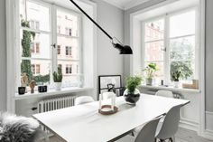 Design Hub - блог о дизайне интерьера и архитектуре: Стильная квартира в серых тонах
