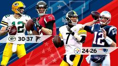Who are you going for this #nfl weekend ? I say Green Bay Packers and the New England Patriots