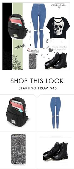 """Day-8"" by kryslyn007 on Polyvore featuring Topshop and Sunsteps"