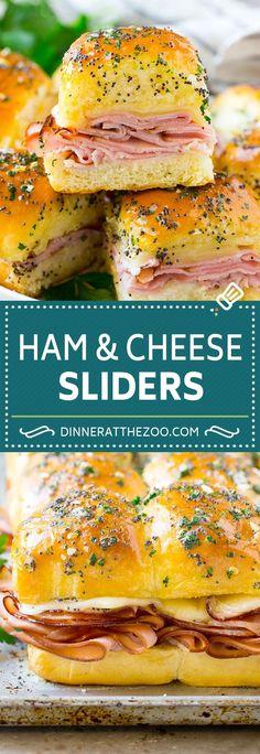 Lower Excess Fat Rooster Recipes That Basically Prime Ham And Cheese Sliders Recipe Hot Ham And Cheese Sliders Ham And Cheese Sandwiches Slider Sandwiches, Appetizer Sandwiches, Appetizer Recipes, Hot Ham Sandwiches, Hot Sandwich Recipes, Hawaiian Sandwiches, Cheese Appetizers, Recipes Dinner, Dinner Ideas