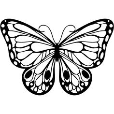 printable monarch butterfly coloring page coloringpagebook com