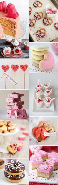 Valentines Day Sweets and Treats