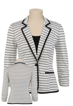 Can't wait to get this blazer at my store, Maurice's!
