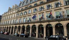 Le Meurice, la Chambre des Rois Palaces, Le Meurice, Paris 2015, Paris Hotels, Paris France, Louvre, Street View, Building, Travel