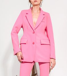Loéil  Aside from just cool clothes, you can expect endless styling inspiration from Loéil's editorial-like product shots.Loéil Clarice Jacket ($99) This bright pink power jacket is a necessity for spring!   6 Affordable Sites You Haven't Shopped Yet—but Should via @WhoWhatWear