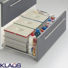 Tiroir cuisine - cuisine sur mesure - rangement pratique - cuisine - KLAUS