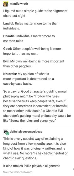 Alignment chart dnd evil playable dungeons and dragons Book Writing Tips, Writing Help, Writing Prompts, Writing Ideas, Story Prompts, The More You Know, Good To Know, Tenacious D, Dnd Funny
