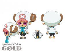 One Piece Film: Gold. TonyTony Chopper / Tony Tony Chopper sheet, Character design, Official reference, Settei