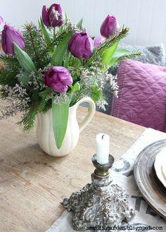 Life through lavender-colored glasses...