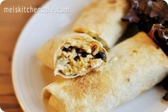 oven baked chimichangas from melskitchencafe.com - this is seriously my new go to site for what to make for dinner!