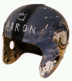 Jean-Michele Basquiat | Helmet; 1981