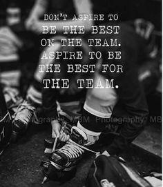 Team hockey