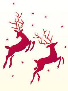 Little Reindeer Stencil