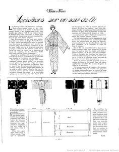 Les Modes de la femme de France 1922/10