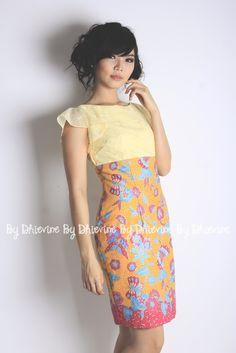 Rupeshwari Dress | Batik Dress | Dress Kebaya | DhieVine | Redefine You