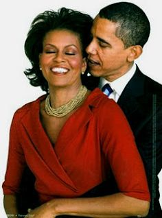 The Obama's - very cute picture!