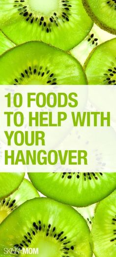 10 foods to get you over your hangover!
