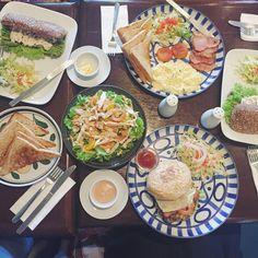 French fancy breakfast