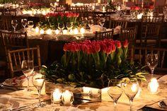 10 ideias de decoração com tulipas para a festa de 15 anos - Constance Zahn | 15 anos