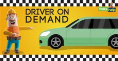 Hurry!! Avail Limited Period Offer - 10% Cashback on driver on demand Service. Call the Certified Experts at Home. For Booking Visit https://www.volkshelp.com/information/driver-on-demand.php Or Call 82-87-900-800. Use Code DOD10 for 10% Cashback. #driverondemand #delhi #Gurgaon #Noida #volkshelp