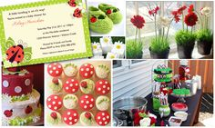 lady bug baby shower ideas