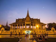 Moonlight Pavilion, Royal Palace, Phnom Penh, Cambodia.
