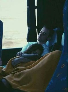 This could've been us on the bus, but we couldn't sit next to each other and you cant take a hint
