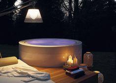 Hot-Tub / tragbares / rund / 5 Plätze MINIPOOL: 9S2TBIRSGA by Ludovica & Roberto Palomba KOS