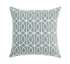 Gate Azure Pillow from Dwell Studio