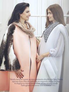 Sintonia Fina: Vogue Brasil December 2015 by Fabrizio Scarpa - Dior Fall 2015 Haute Couture