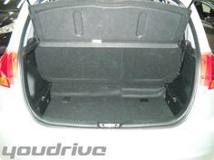 Bagagliaio Hyundai I20 www.youdrivecars.it
