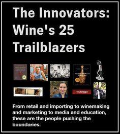 Top 25 Wine Innovators