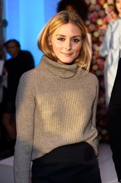 Olivia Palermo OP at London Fashion Week 2016 - 2017 #runway #backstage #style #fashion