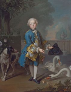 Portrait of Louis Philippe Joseph, Duc d'Orleans and Duc de Chartres (1747-1793) by Louis Tocqué.