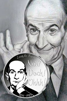 """Appreciation of a world star: Louis de Funès - """"No!"""" Real silver for France& cult actor! Western Film, World Star, Joy And Happiness, Humor, Fire Emblem, Good Movies, Workplace, Life Is Good, Appreciation"""