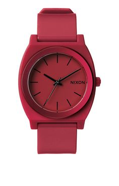 The Time Teller P - Dark Red Ano | Nixon