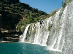 Barranco La Peonera, un precioso barranco en la Sierra de Guara  http://www.vertientesaventura.com