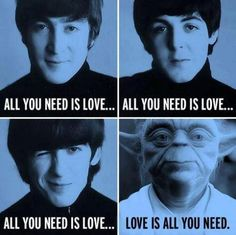Beatles + Ioda