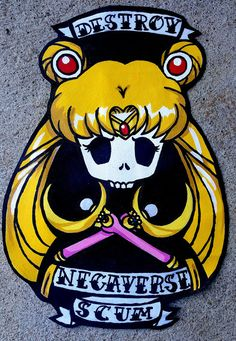 Deluxe Sailor Moon Patch por NoxShop en Etsy