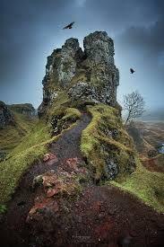 Image result for fairy glen, isle of skye