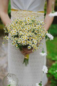 bouquet de margaridas, flores do campo para noivas #casarcomgosto