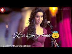 Sun raha hai na tu female song , whatsapp status, true status Love Shayari Romantic, Romantic Love Song, Romantic Song Lyrics, Romantic Status, Romantic Songs Video, Hindi Dance Songs, Tamil Video Songs, Latest Bollywood Songs, Bollywood Movie Songs