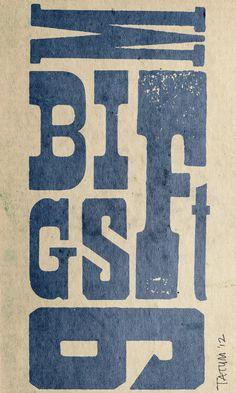 Random Bits of Type #letterpress