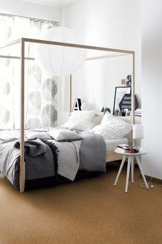 Korkboden Fürs Schlafzimmer?Schöner Wohnen Helgoland BJ01066   #Korkboden  Korkoptik #Kork #Raumgestaltung