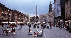 Piazza Navona, Rome, Italy by curreyuk, via Flickr
