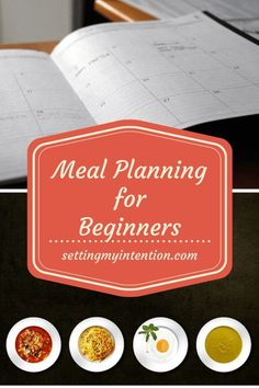 Have you been determined to meal plan, done it for a week or two, and then fallen back into old habits of last minute decisions or fast food? Me too. If you're a meal planning wannabe like me, follow along as I try and slowly develop the habit of meal pla